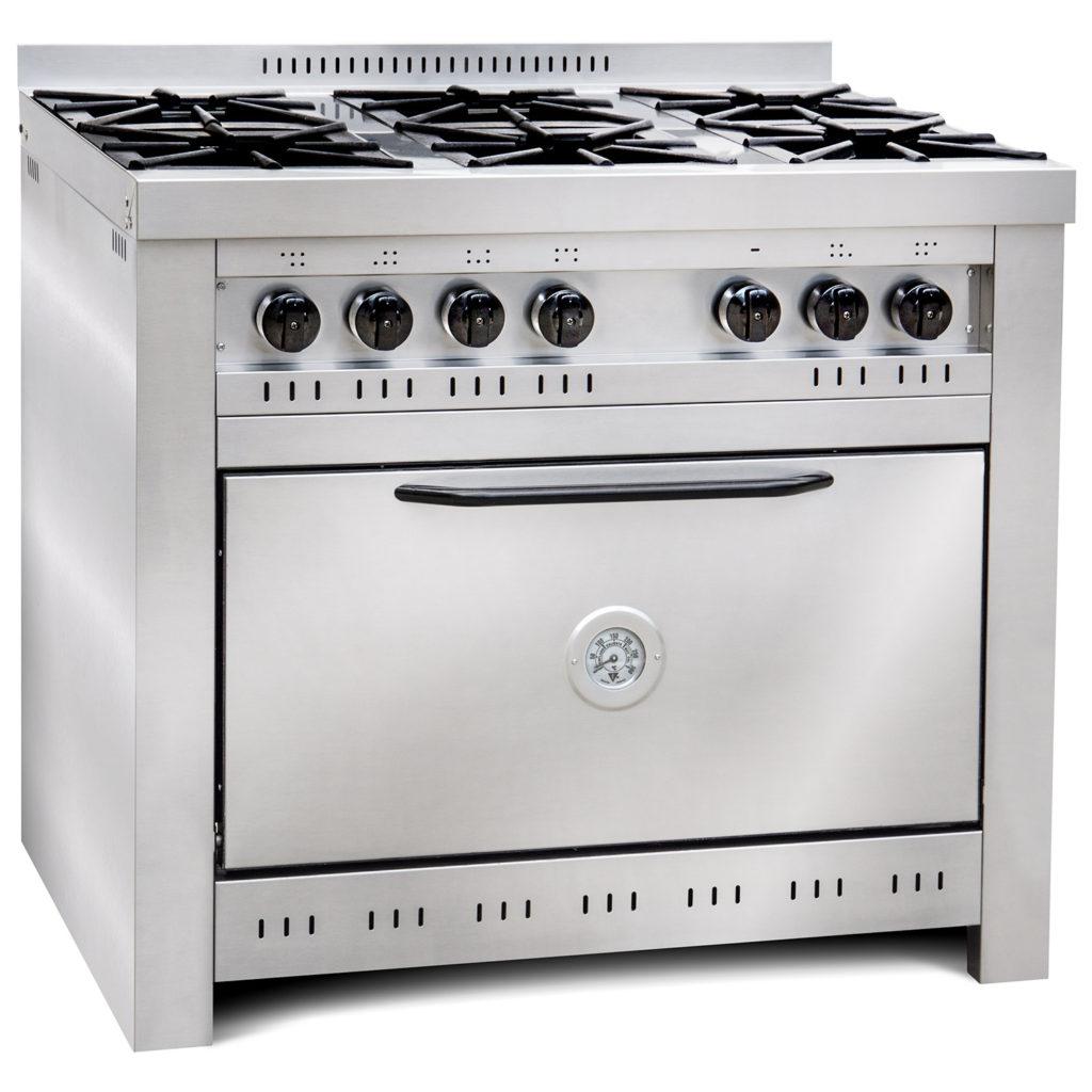 Cocina industrial de 6 hornallas Corbelli - Cook and Food