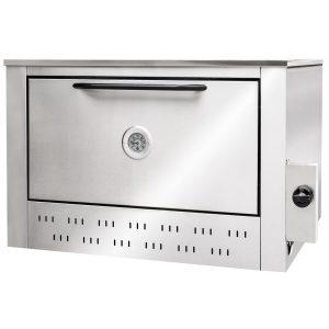 Detalle del exterior del horno de la cocina industrial Corbelli - Cook and Food